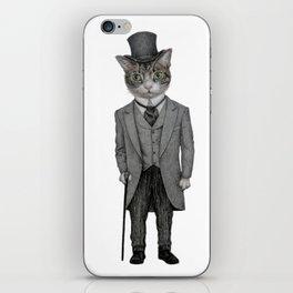 Mr.cat iPhone Skin