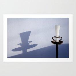 wall_candle Art Print