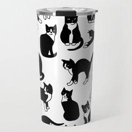 Tuxedo Cats Travel Mug