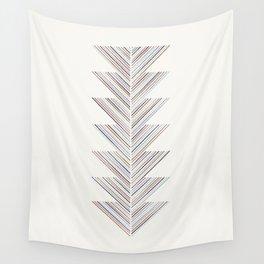 Herringbone Arrow - Grape Wall Tapestry