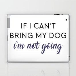 Bringing my Dog Laptop & iPad Skin
