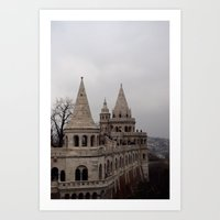 budapest Art Prints featuring Budapest by L'Ale shop