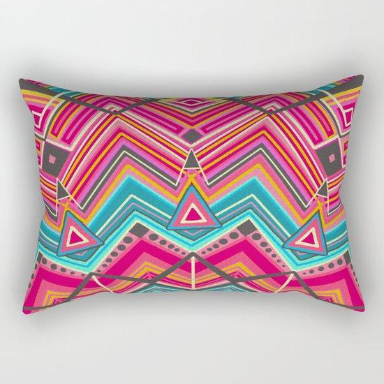picchu pink Rectangular Pillow