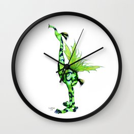 Fantasy Bird Gobi Wall Clock