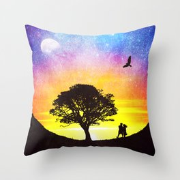 When the stars were shining Throw Pillow