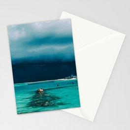 Maldivian storm Stationery Cards