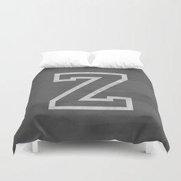 Letter Z Duvet Cover