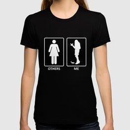 Others vs. Me (woman) - chipmunk T-shirt