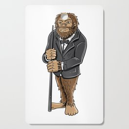 Funny bigfoot shirt - billiards and snooker lover Cutting Board