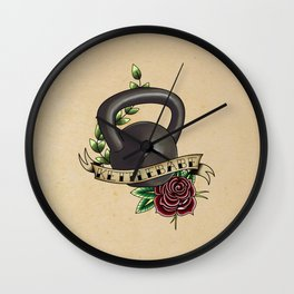 Kettlebabe. Wall Clock