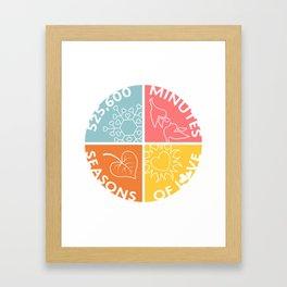 Seasons of Love Framed Art Print