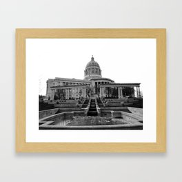 Capitol Framed Art Print