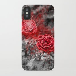 Gothic romance iPhone Case