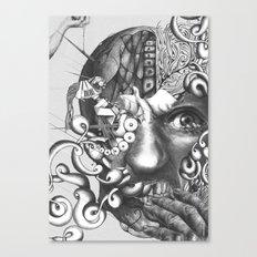 das experiment Canvas Print