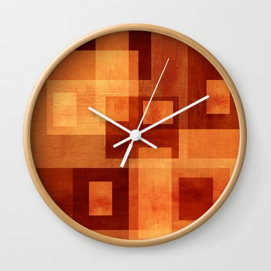 Textures/Abstract 103 Wall Clock