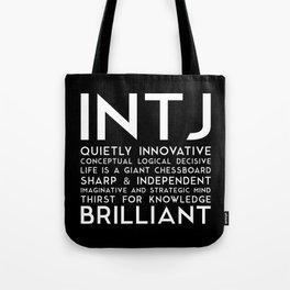 INTJ (black version) Tote Bag