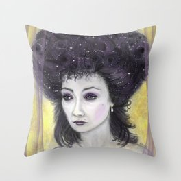 The Emperor's Paramour Throw Pillow