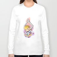 exo Long Sleeve T-shirts featuring EXO Tao dreamcatcher by Rei Lydia