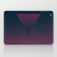 ombre iPad Cases featuring OMBRE / raspberry by DANIEL COULMANN
