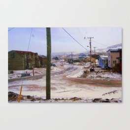 Out my window Canvas Print