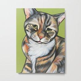 Kiwi the Kitty Metal Print