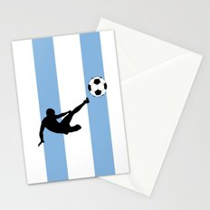Fifa world cup 2014  Argentina Flag Stationery Cards