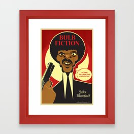 Jules Winnfield Framed Art Print