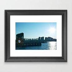 Long Island Sunset Framed Art Print