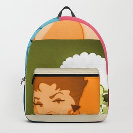 The Golden Girls Abstract Backpack