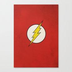 Flash Minimalist  Canvas Print