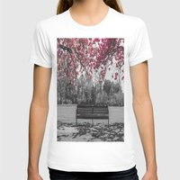 cherry blossom T-shirts featuring Cherry Blossom by Claire Doherty