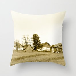 Austrian Farm Throw Pillow