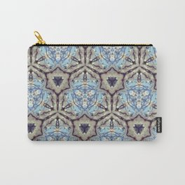 Crystallize (Blue) Carry-All Pouch
