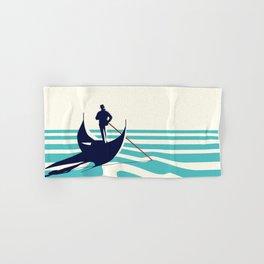 Venice Blue Hand & Bath Towel