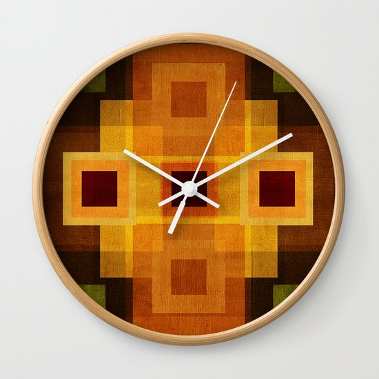Textures/Abstract 95 Wall Clock