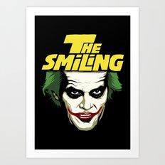 The Smiling Art Print