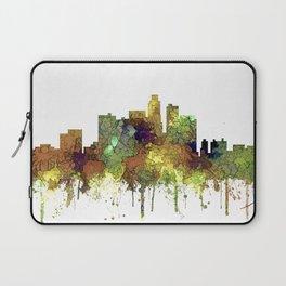 Los Angeles Skyline - Safari Buff Laptop Sleeve