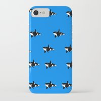 orca iPhone & iPod Cases featuring Orca by Crayle Vanest