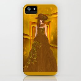 Autumn ball gown iPhone Case