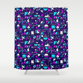 Messy Order Shower Curtain