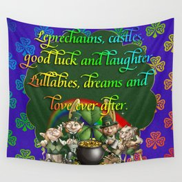 Leprecaun Party Wall Tapestry