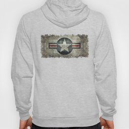 Stylized US Air force Roundel Hoody