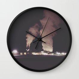 Industrial Fog Wall Clock