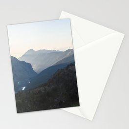 North Cascades at Sunset II Stationery Cards