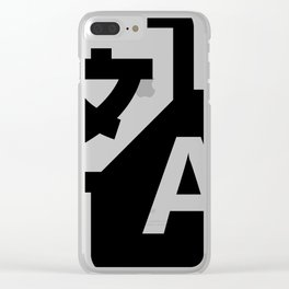 Chinesse letter Clear iPhone Case