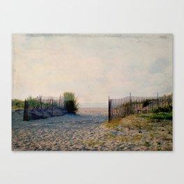 Early Morning Beach Walk Canvas Print