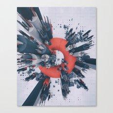 BATTERIES (everyday 02.09.17) Canvas Print