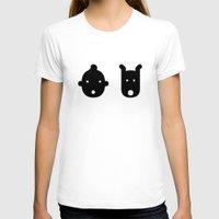 tintin T-shirts featuring tintin & milu by atipo