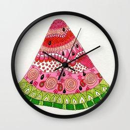 Slice of Life Wall Clock