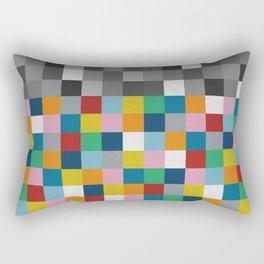 Colour Block with Topper #2 Rectangular Pillow